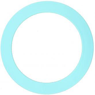 Anneau bleu pastel