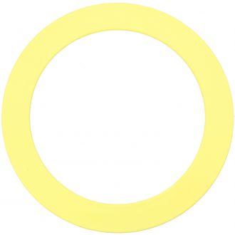 Anneau jaune pastel