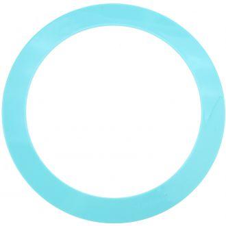 Anneau de jongle bleu pastel