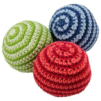 Lot de 3 balles crochet