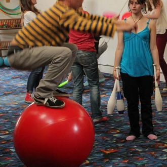 Boule d'équilibre 70cm