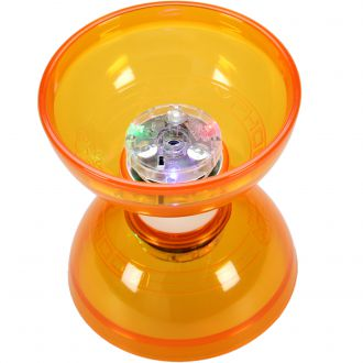 Diabolo Typhoon lumineux orange