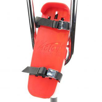 La partie sur laquelle on pose le pied pivote permettant une posture confortable et agréable pour les échassiers