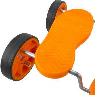 plateforme pour acrobatique à roues