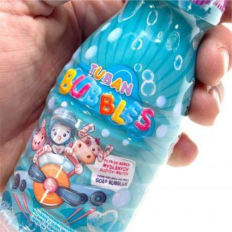 12 bidons de produit à bulles 250mL