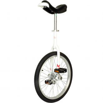 Monocycle débutant blanc