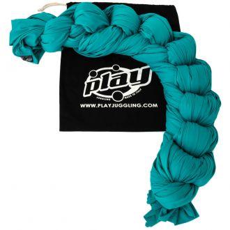 Tissu aérien turquoise