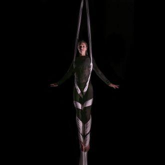 Céline Cador cirque tissu