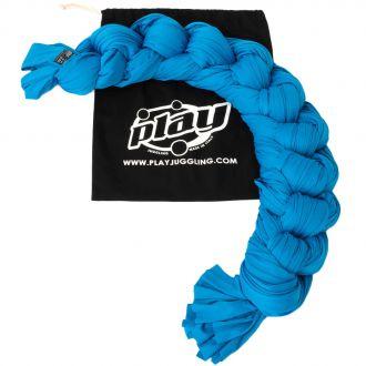 Tissu aérien bleu