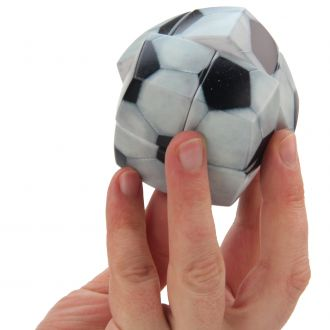puzzle v cube fan de football ballon