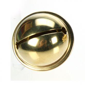 Grelot 42mm doré