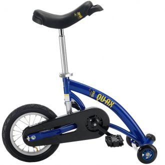 Monocycle à roulettes bleu